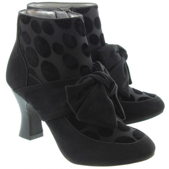RUBY SHOO Ladies Seren Bow Boots In Black