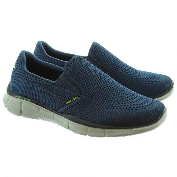SKECHERS 51509 Equalizer Slip On Trainers in Navy