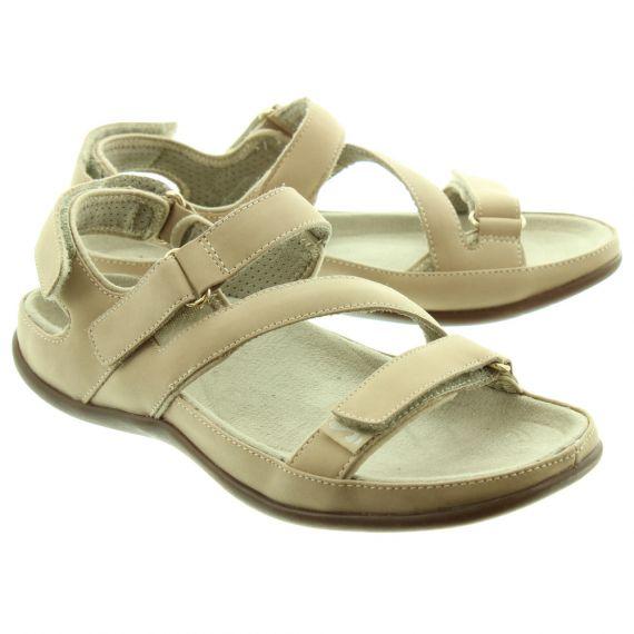 STRIVE Ladies Montana Sandals In Tan