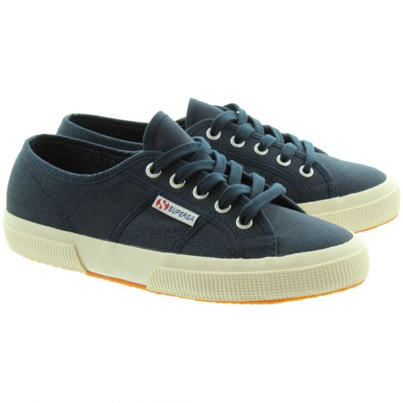 SUPERGA 2750 Adults Cotu Canvas Pumps In Navy