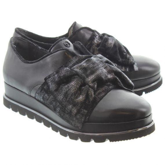 TAMARIS Ladies 24700 Bow Shoes In Black