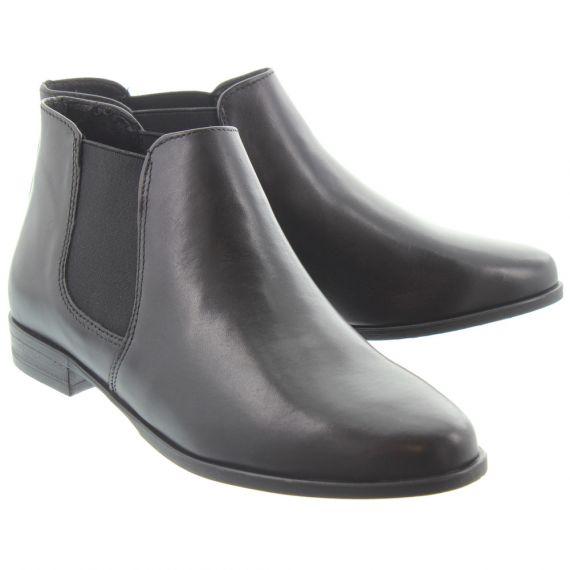TAMARIS Ladies 25097 Chelsea Boots In Black