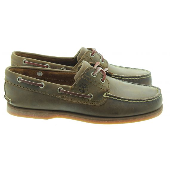 TIMBERLAND 1001R CLS21 Boat Shoes in Brown