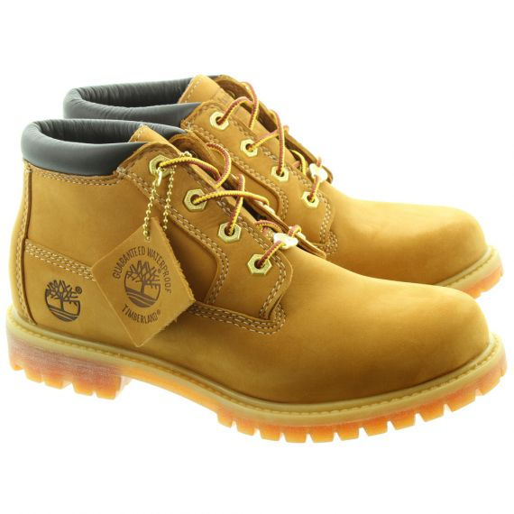 TIMBERLAND 23399 Nellie Ankle Boots in Wheat