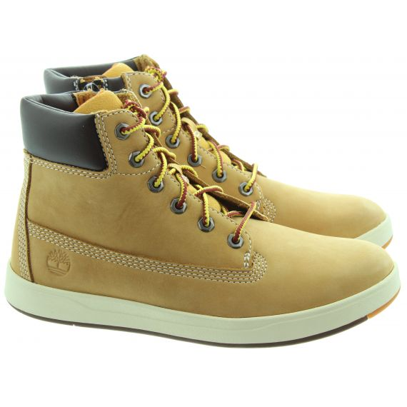 TIMBERLAND Kids Davis 6 Inch Boots In Wheat