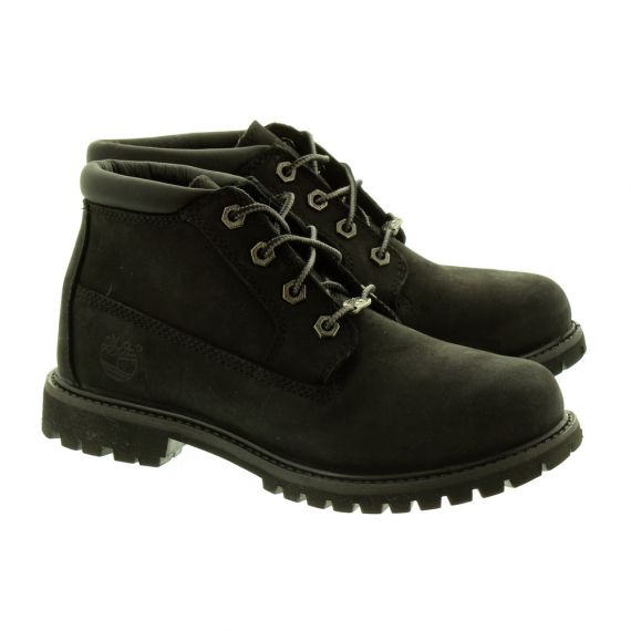 TIMBERLAND Ladies 23398 Nellie Ankle Boots In Black