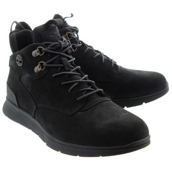 TIMBERLAND Mens Killington Hiker Boots In All Black.