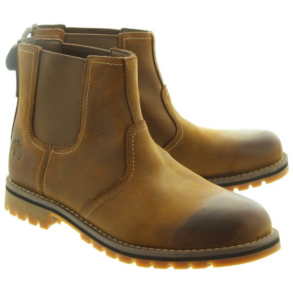 TIMBERLAND Mens Larchmont Chelsea Boots In Light Brown
