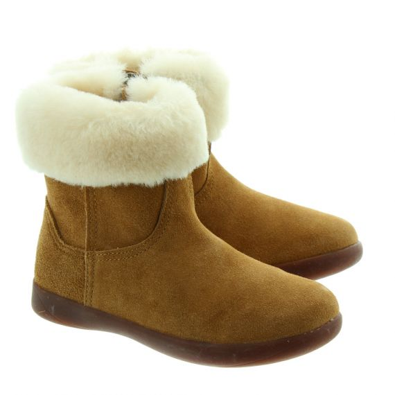 UGG Jorie Infant Boots in Chestnut