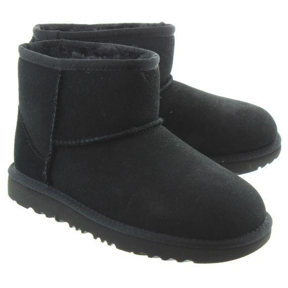 UGG Kid Classic Mini 2 Boots In Black