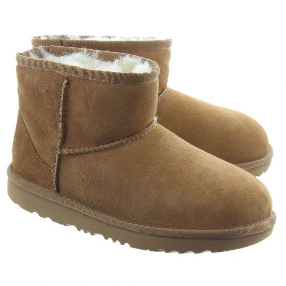 UGG Kid Classic Mini 2 Boots In Chestnut