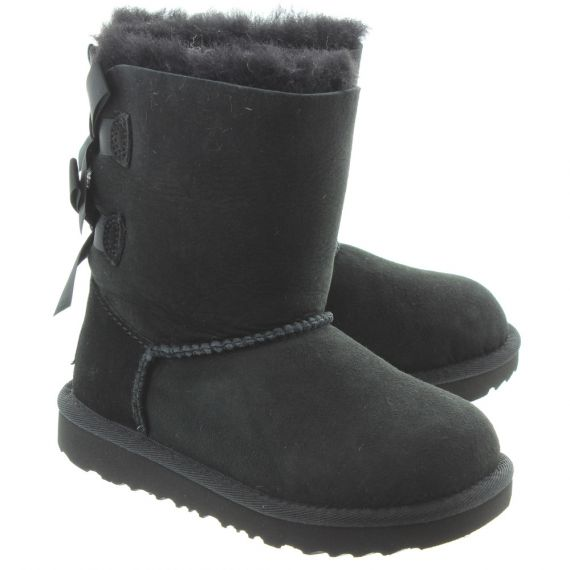 UGG Kids Bailey Bow 2 Boots In Black