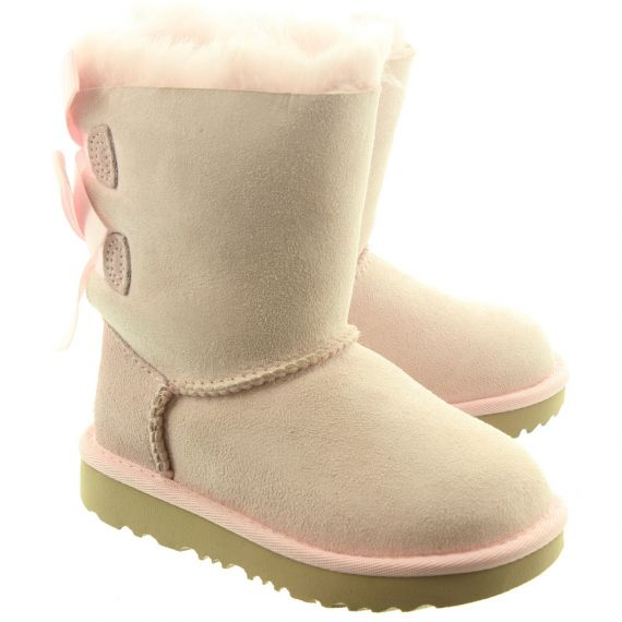 UGG Kids Bailey Bow 2 Boots In Pink