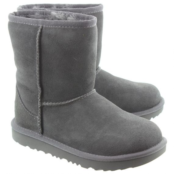 UGG Kids Classic Short 2 Boots In Grey