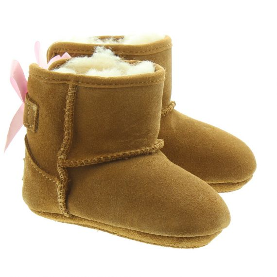 UGG Kids Jesse Bow Boot In Chestnut