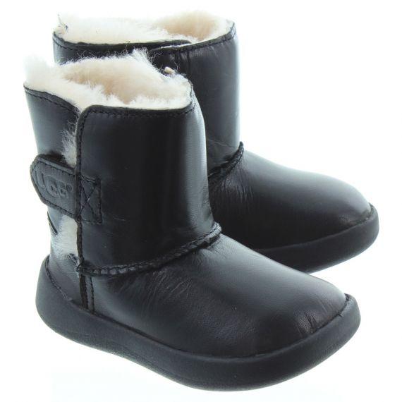 UGG Kids Keelan Boots In Black
