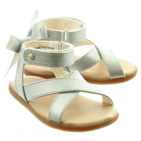 UGG Kids Maggiepie Sparkle Sandals In Silver