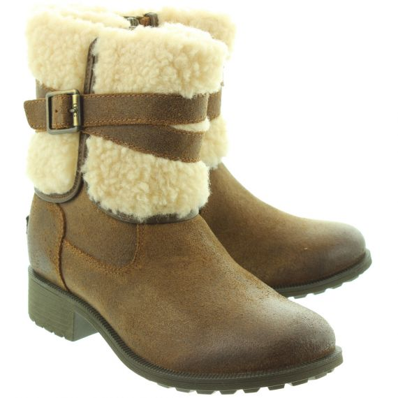 UGG Ladies Blayre 3 Boots In Brown