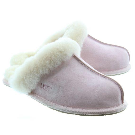 UGG Ladies Scuffette Sheepskin Slipper In Pink