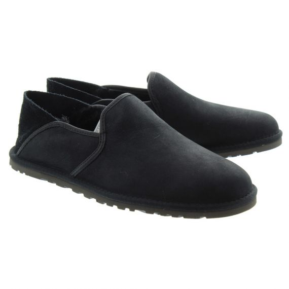 UGG Mens Cooke Slippers In Black