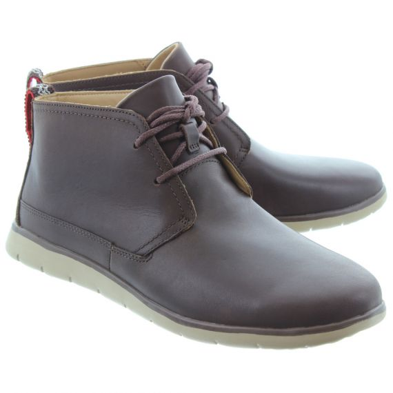UGG Mens Freamon Waterproof Boots In Brown