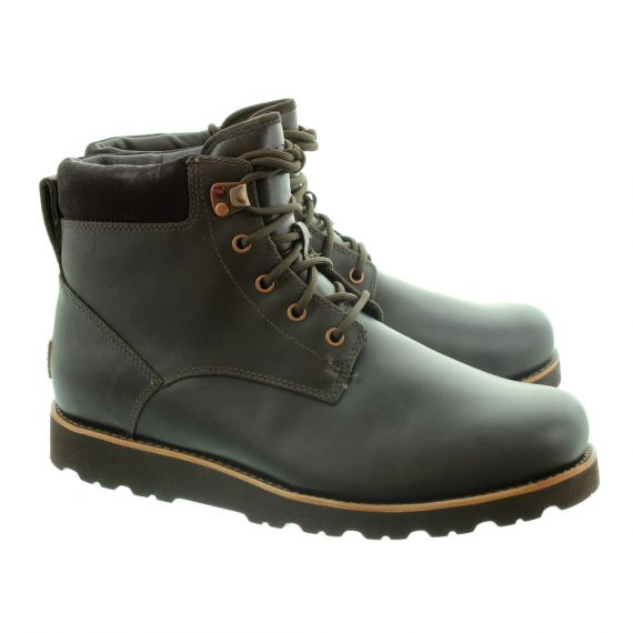 UGG Mens Seton TL Lace Ankle Boots In Stout