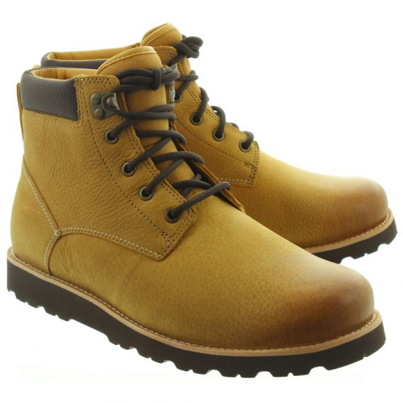 UGG Mens Seton TL Lace Ankle Boots In Wheat