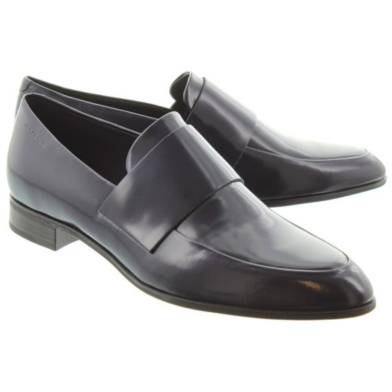 VAGABOND Ladies 4406 Francis Plain Shoes In Navy