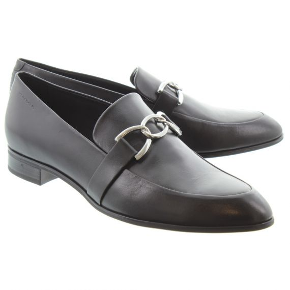 VAGABOND Ladies 4606 Francis Trim Shoes In Black