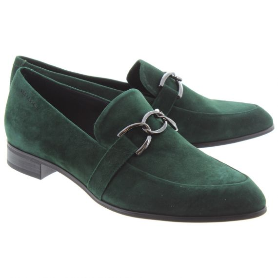 VAGABOND Ladies 4606 Francis Trim Shoes In Green
