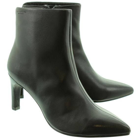 VAGABOND Ladies 4618 Heel Ankle Boots In Black