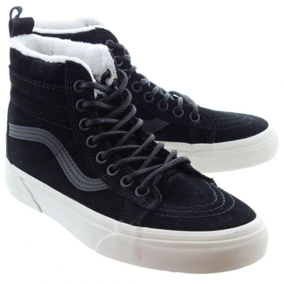 VANS Ladies SK8-Hi MTE Boots In Black