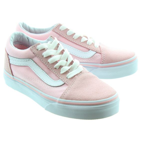 VANS Old Skool Kids Shoes In Pink