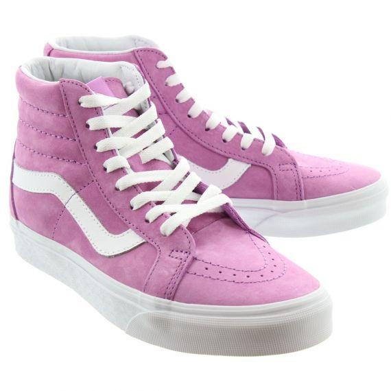 VANS Sk8 Hi Boots In Pink
