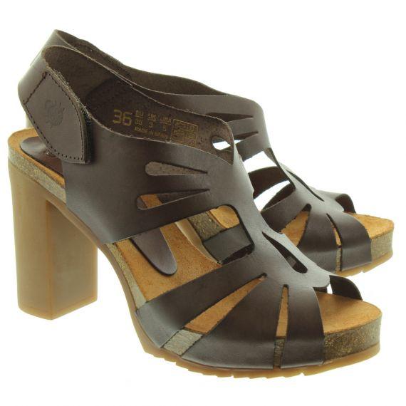 YOKONO Ladies Malibu Heeled Sandals In