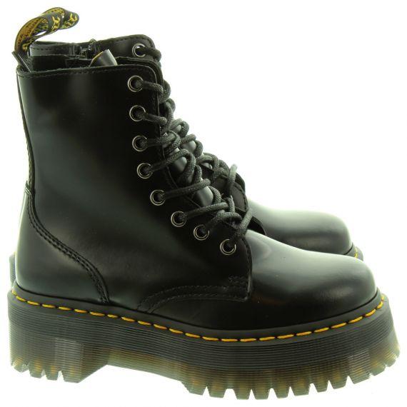 DR MARTENS Ladies Jadon Lace Boots In Black