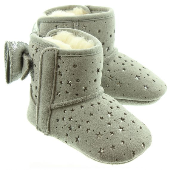 UGG Kids Jesse Stargirl Boots In Grey