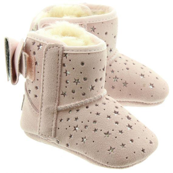 UGG Kids Jesse Stargirl Boots In Pink