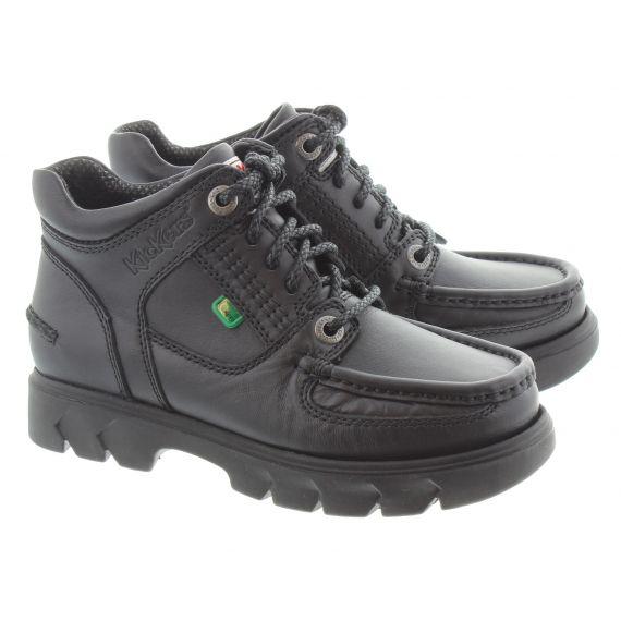 KICKERS Kid Lennon Mid Boots In Black