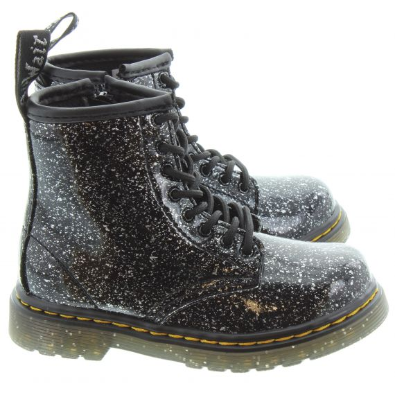 DR MARTENS Kids 1460 Boot in Black Cosmic