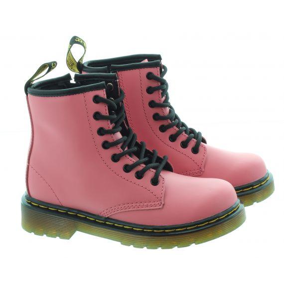 DR MARTENS Kids 1460 Boots In Acid Pink