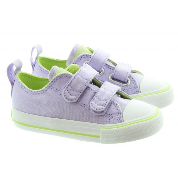 CONVERSE Kids All Star 2 Velcro Shoes In Violet