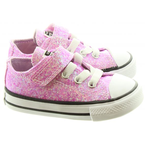 CONVERSE Kids Allstar 1V Ox Shoes In Lilac