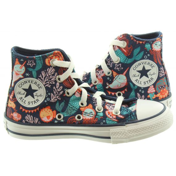CONVERSE Kids Allstar Hi Boots In Mermaid