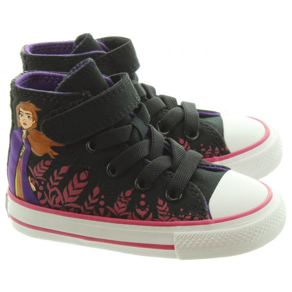 CONVERSE Kids Anna Toddler Boots In Black