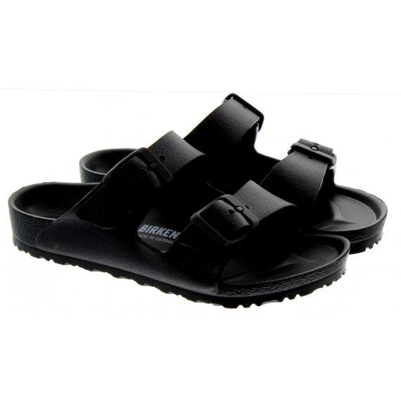 BIRKENSTOCK Kids Arizona EVA Sandals In Black
