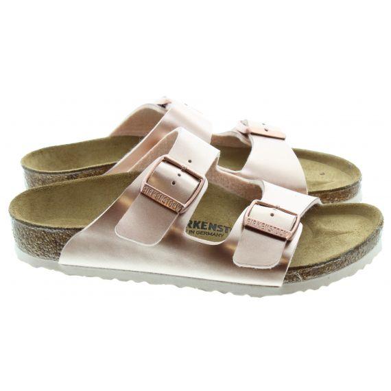 BIRKENSTOCK Kids Arizona Sandals In Copper