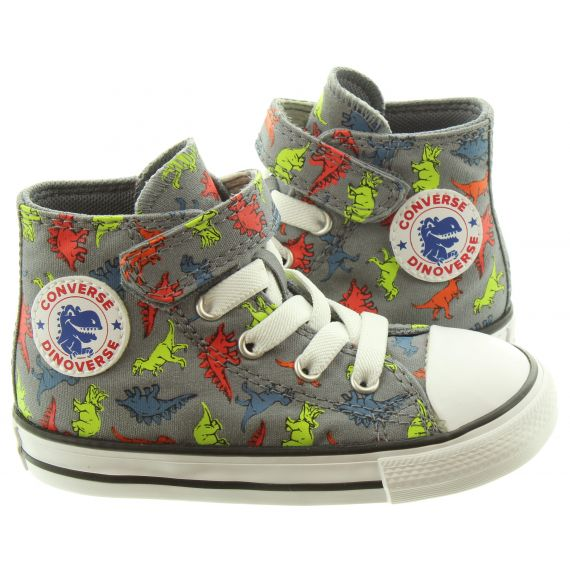 CONVERSE Kids AS 1V Hi Boots In Dinosaur