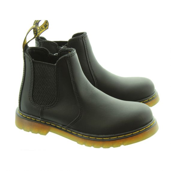 DR MARTENS Kids Banzai 2976 Chelsea Boots In Black