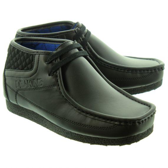DEAKINS Kids Beckley Junior Lace Boots In Black